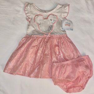 Disney Baby Minnie Mouse Dress Size 12M